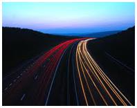 Фото ночной дороги