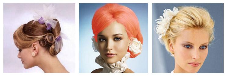 свадебная причёска 1