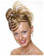 свадебная причёска 4