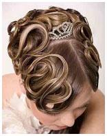 свадебная причёска 6