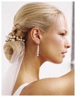 свадебная причёска 9