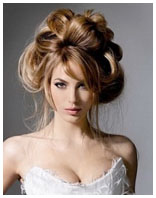 свадебная причёска 5