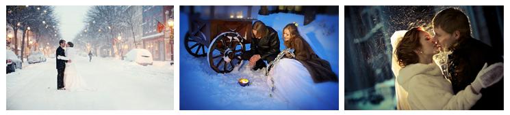 Зимняя свадьба - 3